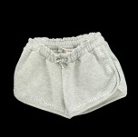 Shorts Moletom com Transfer