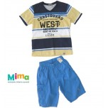Conjunto Cost Guard West Bermuda Azul