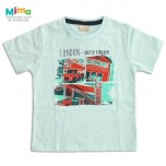 Camiseta London Azul - Infantil Menino