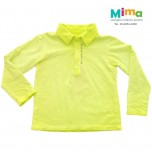 Polo Tinturada Eco Interno ML - Infantil Menino