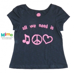 T-shirt All We Need - Juvenil Menina