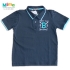 Polo Azul Preppy Team - Infantil Menino